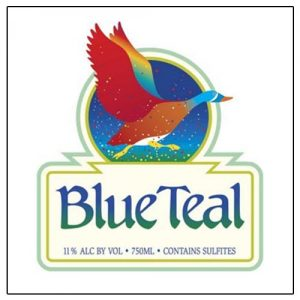 Blue Teal Wine New Mexico